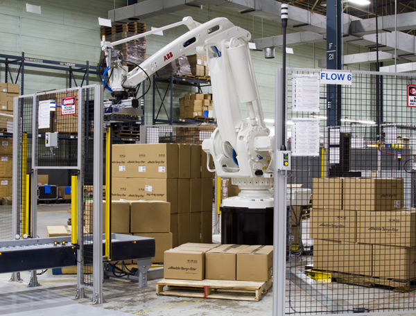 CCS Robotic Palletizing